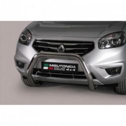 Bullbar anteriore OMOLOGATO RENAULT Koleos 2011-2015 acciaio INOX mod Medium