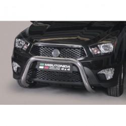 Bullbar anteriore OMOLOGATO SSANGYONG Actyon Sports 2012- acciaio INOX mod Medium