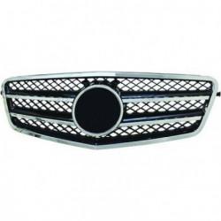 Calandra griglia TUNING MERCEDES Classe E W212 2009-2013 cromata nera, look sportivo stile CL, incluso stemma