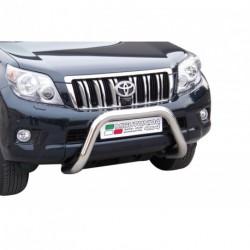 Bullbar anteriore OMOLOGATO TOYOTA Land Cruiser 150 2009-2013  acciaio INOX mod Medium