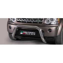 Bullbar anteriore OMOLOGATO LAND ROVER Discovery 5 2014-2016 acciaio INOX mod Medium