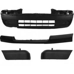 Paraurti anteriore FIAT SCUDO, CITROEN JUMPY, PEUGEOT EXPERT, 2004-2006 nero completo di traversa, fascione e modanature