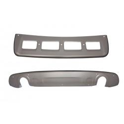 Coppia set piastre alluminio sottoprotezione paraurti anteriore posteriore AUDI Q5 2008 2009 2010 2011 2012