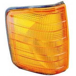 Freccia anteriore destra MERCEDES 190 W201 1982-1993 vetro arancio