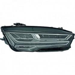 HELLA Faro fanale anteriore MATRIX LED destro AUDI A7 serie 4GA anni 07/2014- con luce curva e diurna LED