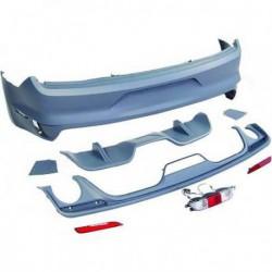 Paraurti posteriore TUNING Sport FORD MUSTANG 2014- verniciabile con diffusore singolo destro e sinistro
