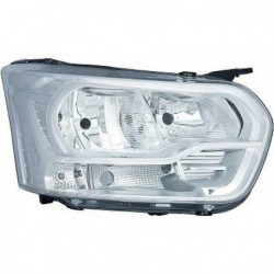 Faro fanale anteriore destro FORD TRANSIT 2013- H7+H15 con luce diurna lampadina