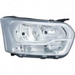 Faro fanale anteriore sinistro FORD TRANSIT 2013- H7+H15 con luce diurna lampadina