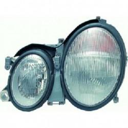 Faro fanale proiettore anteriore destro MERCEDES CLK W208 1997-2002 DEPO H7+H7 per regolazione elettrica