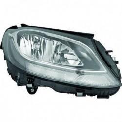 MAGNETI MARELLI Faro fanale anteriore sinistro MERCEDES ClasseC W205 berlina Wagon 2014- alogeno H7 diurna LED