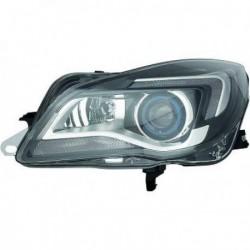 HELLA Faro fanale anteriore BIXENON sinistro OPEL INSIGNIA 2013-2017 D3S+H11 luce guida LED luce curva adattiva