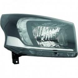 Faro fanale anteriore destro OPEL VIVARO 2014- alogeno H4 luce diurna LED aftermarket