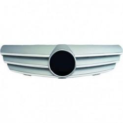 Calandra griglia completa MERCEDES CLK W209 2002- chrome argento SPORTLOOK con stemma originale