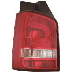 Faro fanale posteriore destro VW T5 TRANSPORTER CARAVELLE BUS MULTIVAN restyling 2009 2010 2011 2012 2013 2014 2015 rosso bianco
