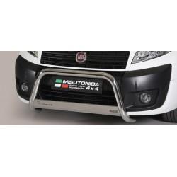 Bullbar anteriore OMOLOGATO FIAT Scudo 2007 2008 2009 2010 2011 2012 2013 2014 2015 2016 acciaio INOX mod Medium