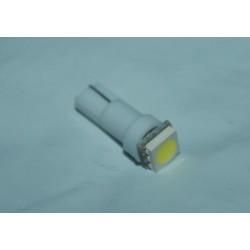 Luce lampadina T5 LED chip SMD 1210 tuning bianca strumentazione interni cruscotto