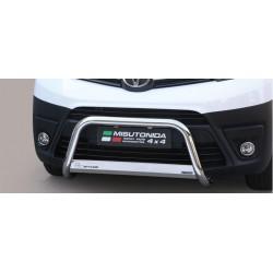 Bullbar anteriore OMOLOGATO TOYOTA Proace 2016- acciaio INOX mod Medium