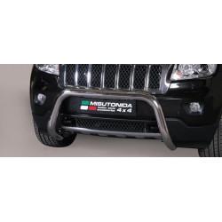 Bullbar anteriore OMOLOGATO JEEP Grand Cherokee 2011 2012 2013 2014 acciaio INOX mod Medium
