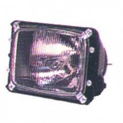 Faro fanale proiettore anteriore sinistro MERCEDES SPRINTER 1995-2000 TYC per regolazione elettrica senza fendinebbia H1+H1