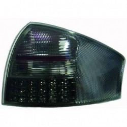 Set fari fanali posteriori TUNING AUDI A6 1997-2004 berlina, LED bianco nero