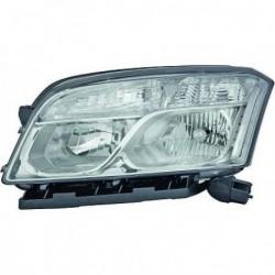 Faro fanale anteriore destro CHEVROLET TRAX 2012- alogeno H7+H1 con motorino per regolazione elettrica, luce diurna