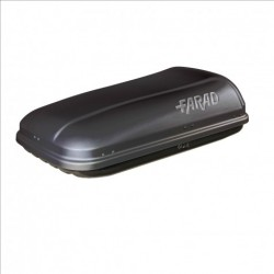 Box baule portatutto FARAD BARRACUDA F1 320 litri universale Made in Italy nero pronta consegna