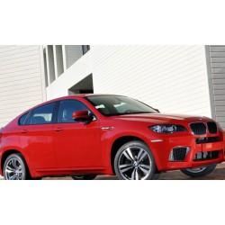 Paraurti anteriore TUNING look X6M M-Performance BMW X6 E71 anni 2008 2009 2010 2011 2012 2013 per lavafari per sensori