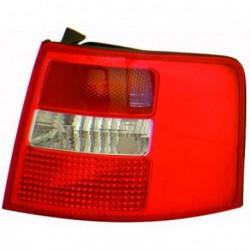 Faro fanale posteriore destro AUDI A6 Avant Allroad, 1997-2004 rosso bianco