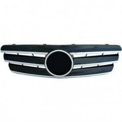 Calandra griglia TUNING MERCEDES Classe C W203 2000-2007 chrome nero, look sportivo stile CL, incluso stemma