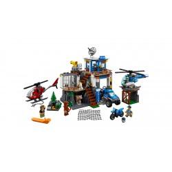 Lego City - Quartier generale della polizia di montagna 60174