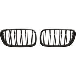 Calandra griglia radiatore TUNING BMW X3 E83  2006-2010 look M doppi listelli nera lucida