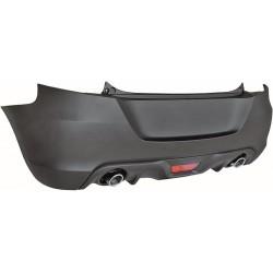 Paraurti posteriore TUNING Sport per SUZUKI SWIFT 2010 2011 2012 2013 2014 2015 2016 2017 verniciabile completo di diffusore inferiore scarico laterale dx sx e retronebbia