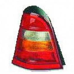 Faro fanale posteriore destro MERCEDES Classe A W168 1997-2000 bianco arancio