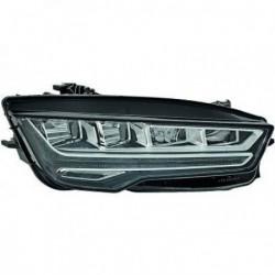 HELLA Faro fanale anteriore LED sinistro AUDI A7 serie 4GA anni 07/2014- con luce curva e diurna LED non Matrix