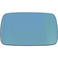 Vetro specchio specchietto retrovisore esterno destra/sinistra BMW Serie 3 E46 1998-2005 berlina touring blu asferico riscaldabile