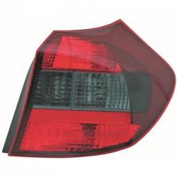 Faro fanale posteriore destro BMW Serie1 E87 2004-2007 fondo nero, senza portalampada