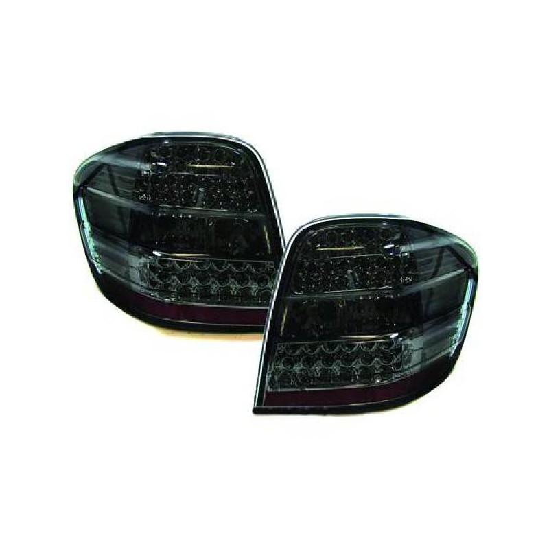 Coppia Fari Fanali Posteriori TUNING MERCEDES Classe ML W164 2005-2008 LED nero