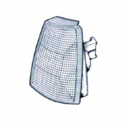 Freccia anteriore sinistra OPEL KADETT E, 1984-1991 bianco