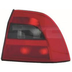 Faro fanale posteriore destro OPEL VECTRA B 1999-2002 rosso nero berlina