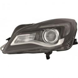 HELLA Faro fanale anteriore destro OPEL INSIGNIA 2013-2017 alogeno HIR2 con motorino luce diurna lampadina