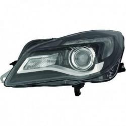 HELLA Faro fanale anteriore sinistro OPEL INSIGNIA 2013-2017 alogeno HIR2 con motorino luce diurna lampadina