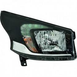 HELLA Faro fanale anteriore sinistro OPEL VIVARO 2014- alogeno H4 luce diurna LED