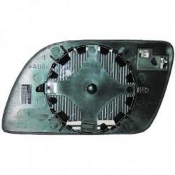 Vetro per specchio specchietto retrovisore esterno destro VW POLO 9N 2001-2005 convesso riscaldabile