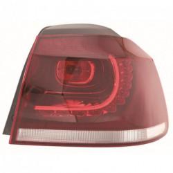 Faro fanale posteriore destro VW GOLF VI 2008-2012 LED esterno fondo chiaro