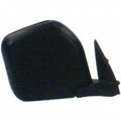 Specchio specchietto retrovisore esterno sinistro MITSUBISHI PAJERO 1997-2000 nero manuale