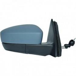 Specchio specchietto retrovisore esterno sinistro SKODA RAPID e SEAT TOLEDO 2012- manuale convesso verniciabile