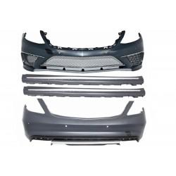 Kit estetico completo look AMG S65 per MERCEDES Classe S W222 berlina 2013- passo lungo, per sensori