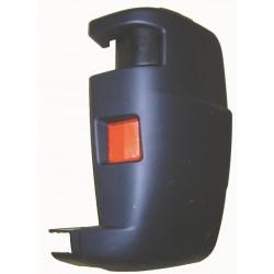 Angolare angolo cantonale paraurti posteriore destro FIAT DUCATO, CITROEN JUMPER, PEUGEOT BOXER 01/2004-2006 nero
