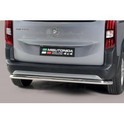 Barra protezione tubo posteriore  TUNING SUV PEUGEOT RIFTER mwb 2018- acciaio INOX anche nero