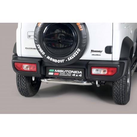 Barra protezione tubo posteriore  TUNING SUV SUZUKI JIMNY 2018- acciaio INOX